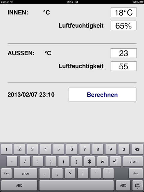 iPad deutsch Tastatur